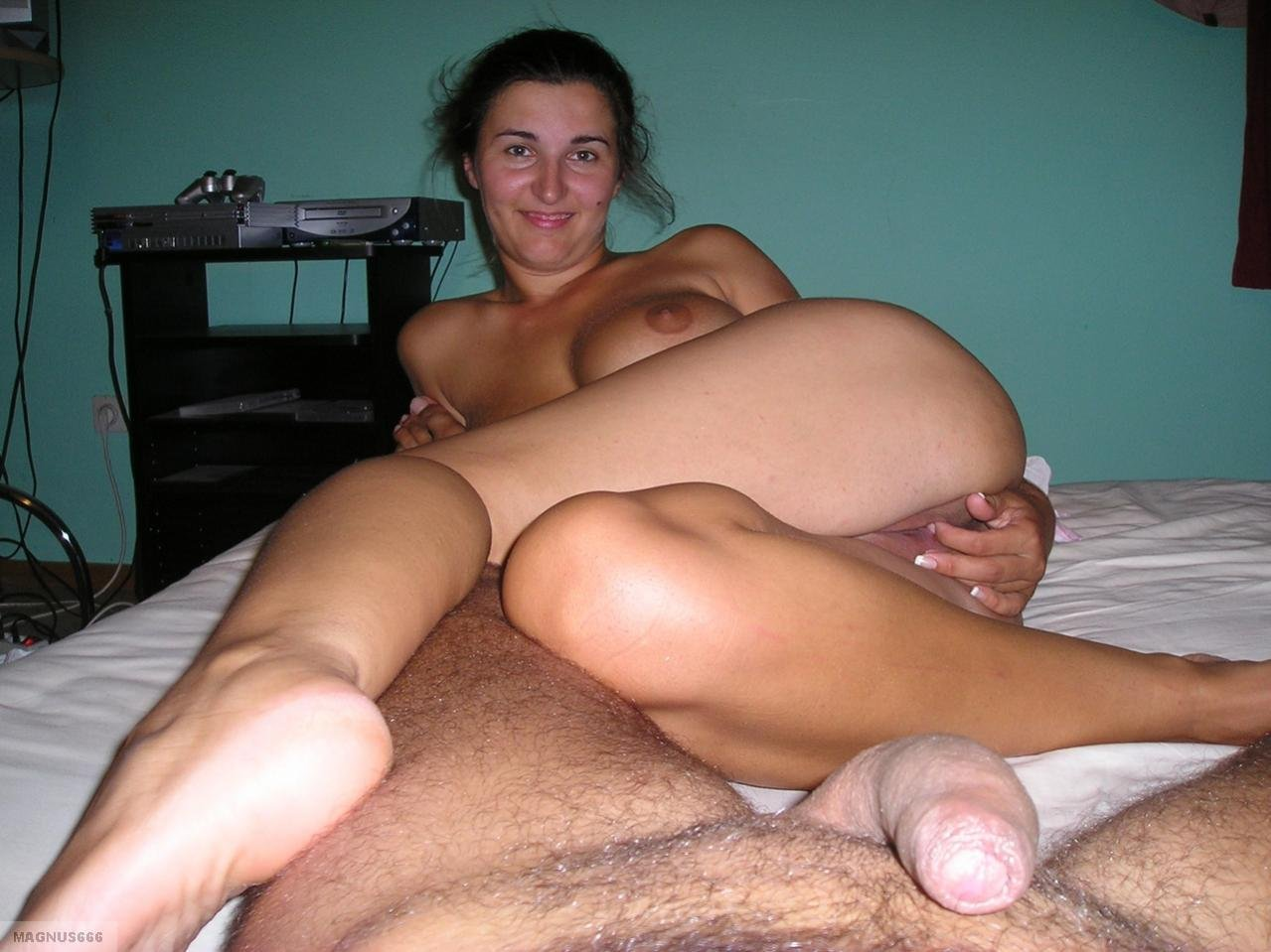 Wife hairy solo