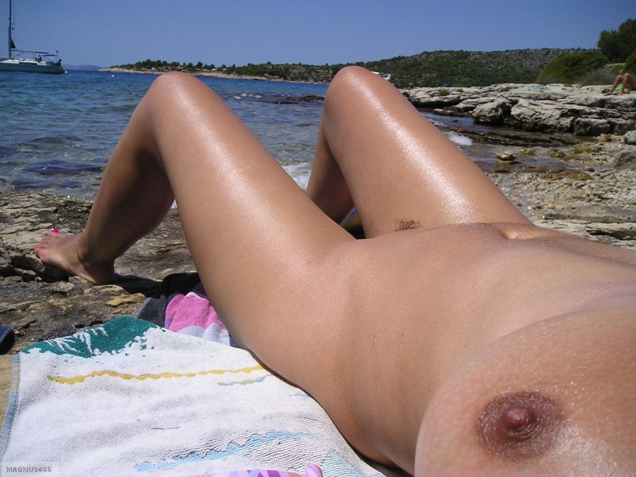 Spy cam in nude beach #1
