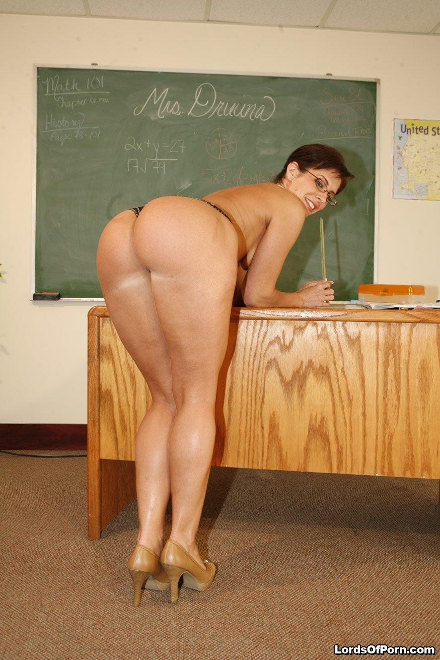 Horny Teacher Sucks And Fucks-7305