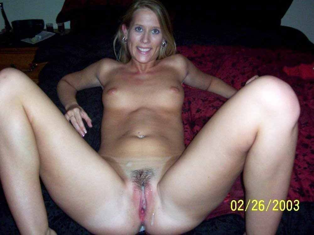naked women after creampie