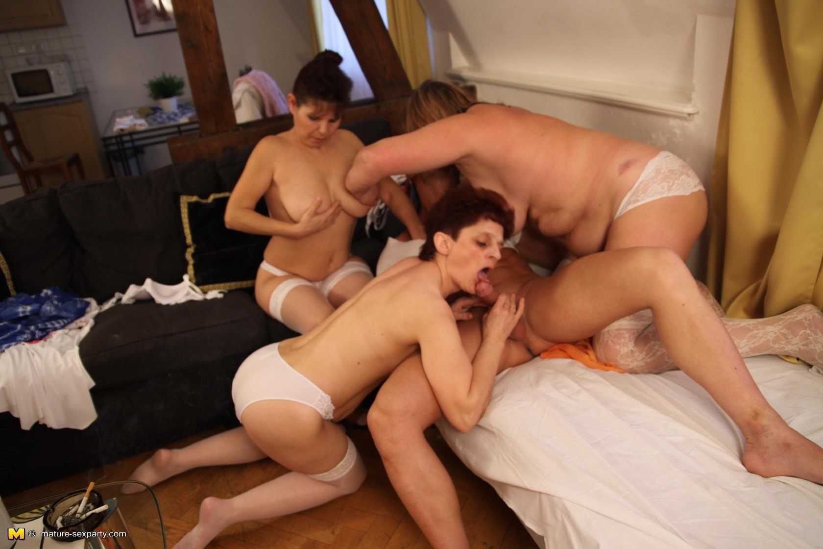 Mature Foursome Sex 93