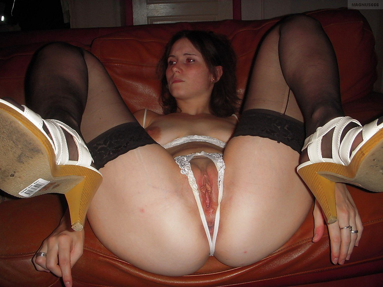 Mature creampie stockings #9