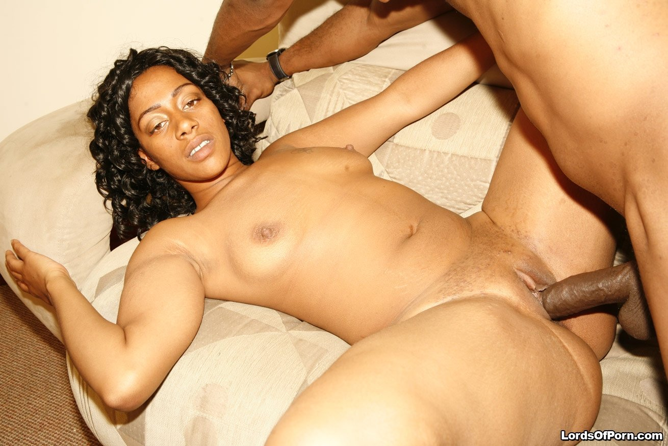 Trading sex for services Hot ebony chick love gangbang interracial 20