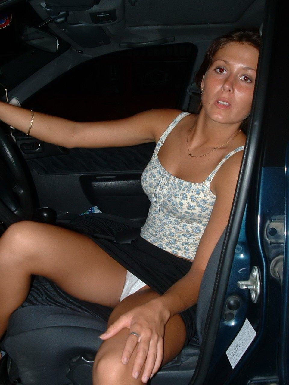 Wife upskirt crowd