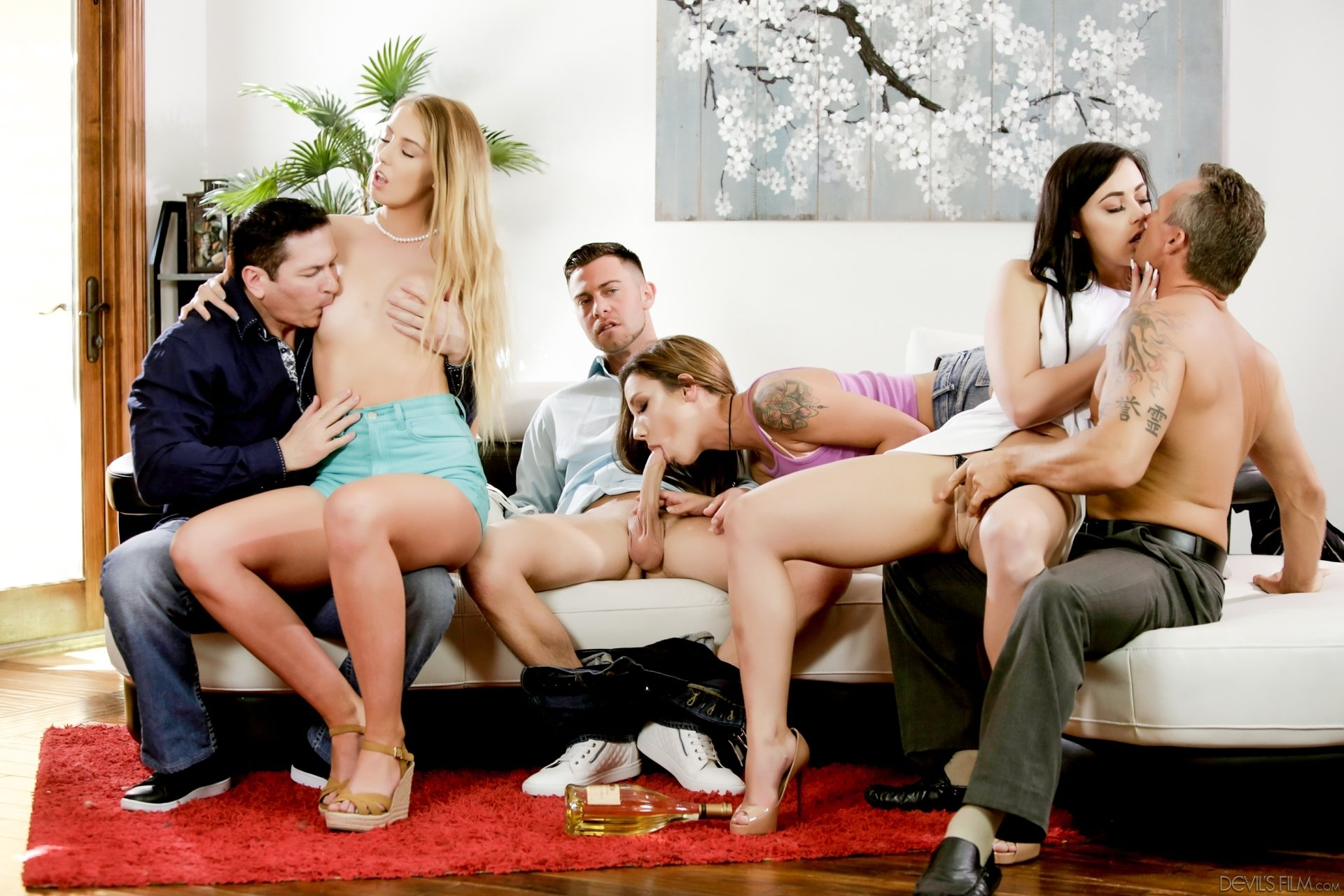 Hd group sex tube #1