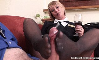 Horny wife with another woman and man