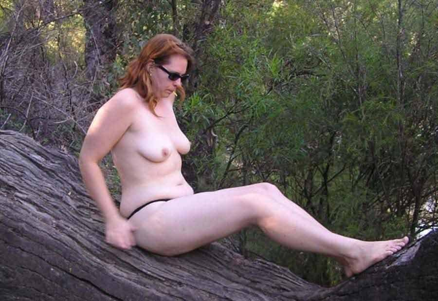 amateur wife on vacation