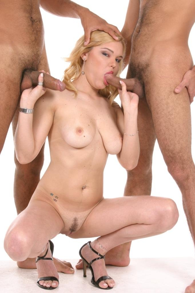 big dick bisexual threesome there