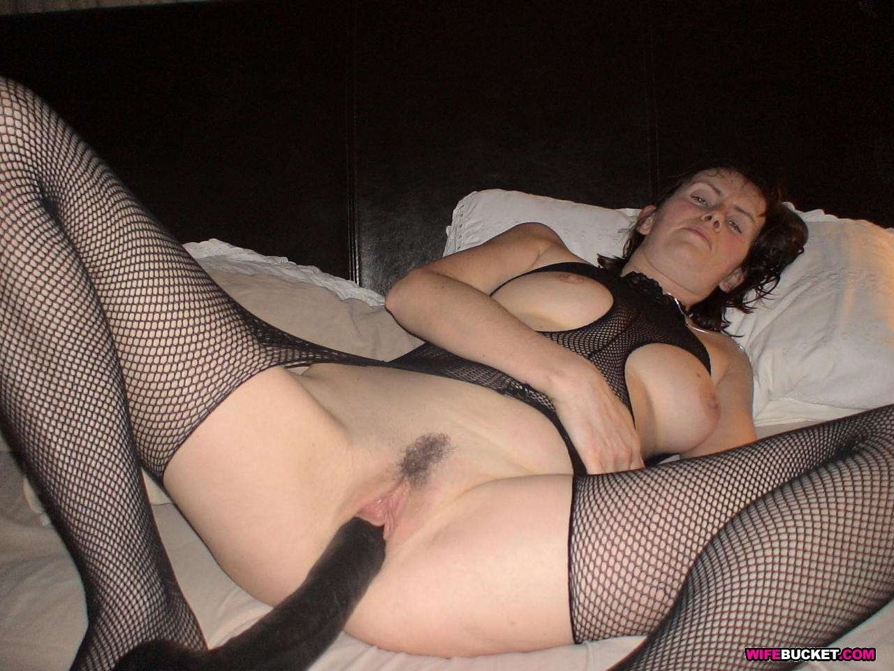 Mom and young amateur