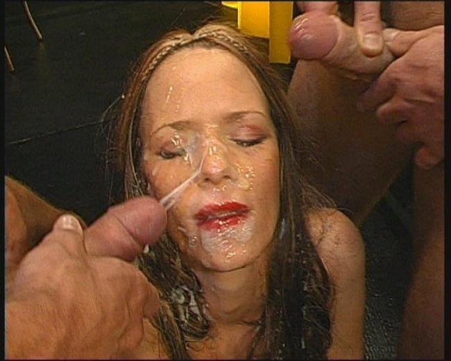 Lucia amateur Husband forced to eat creampie pussy