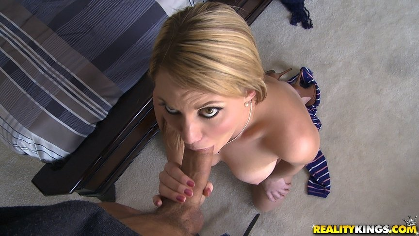 nude milf at home there