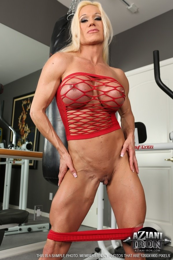big muscle nude show