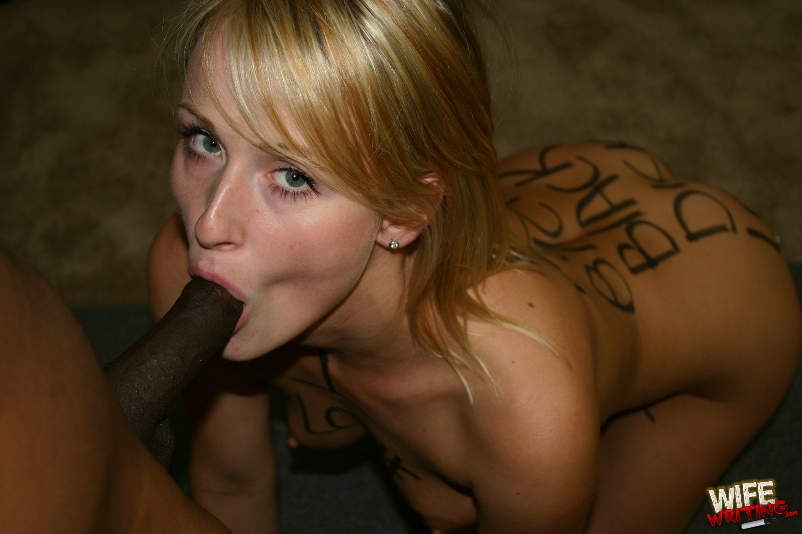 Sharon blonde interracial all the excellent