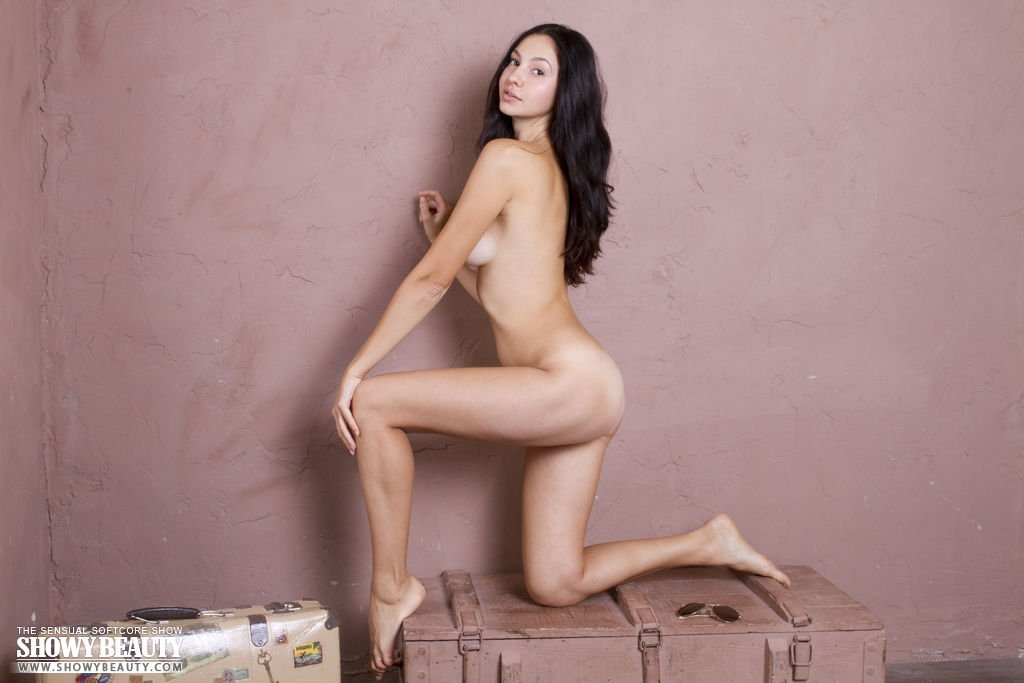 Makeup for nude dress Hand toy and huge dildos rammed arse