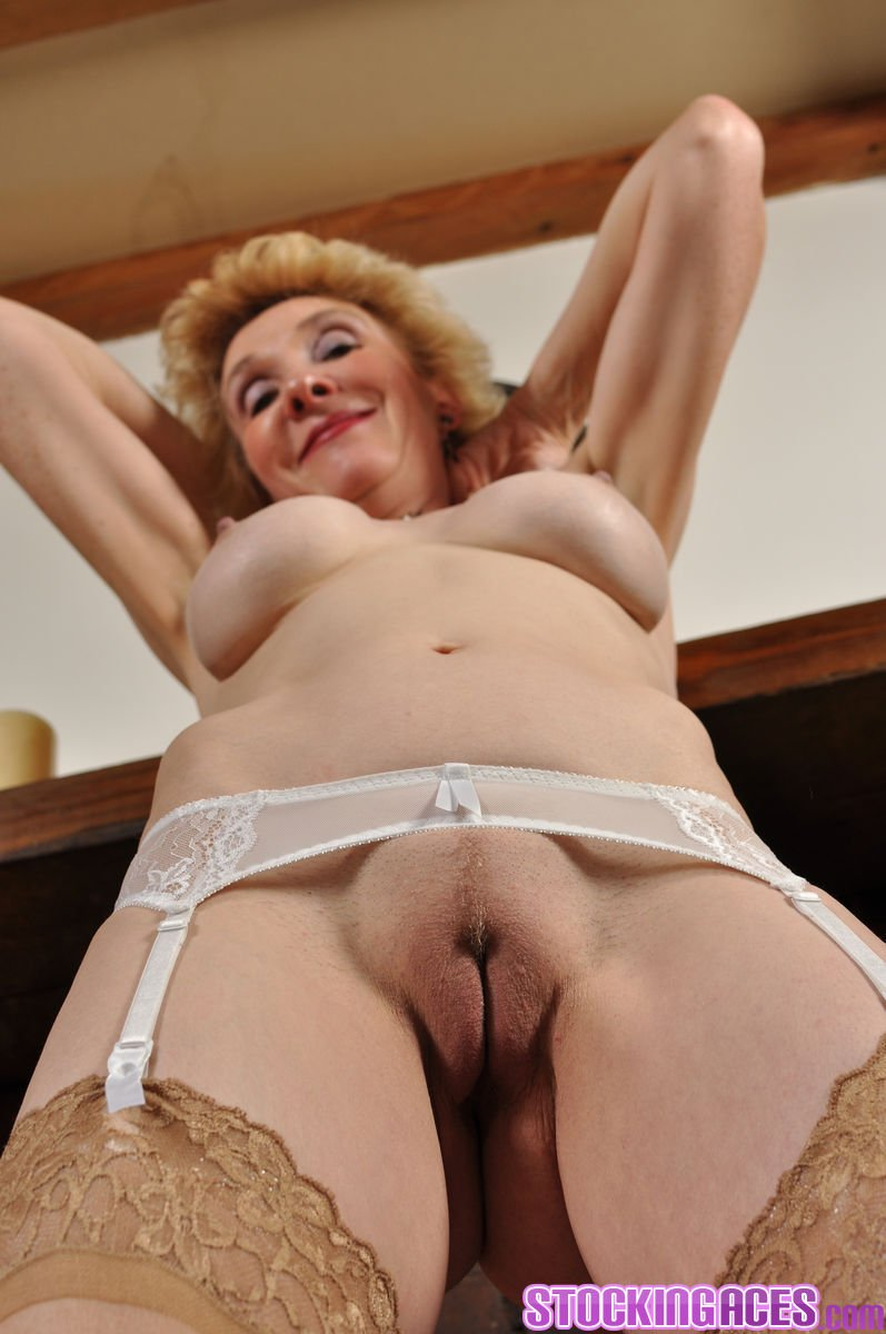 Video granny old amateur