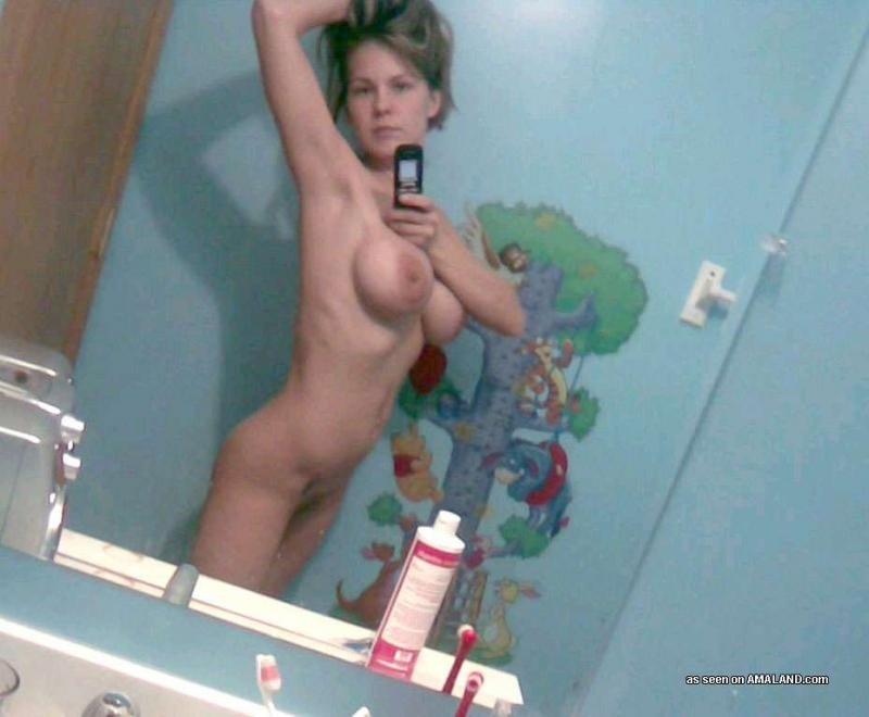 average housewife naked