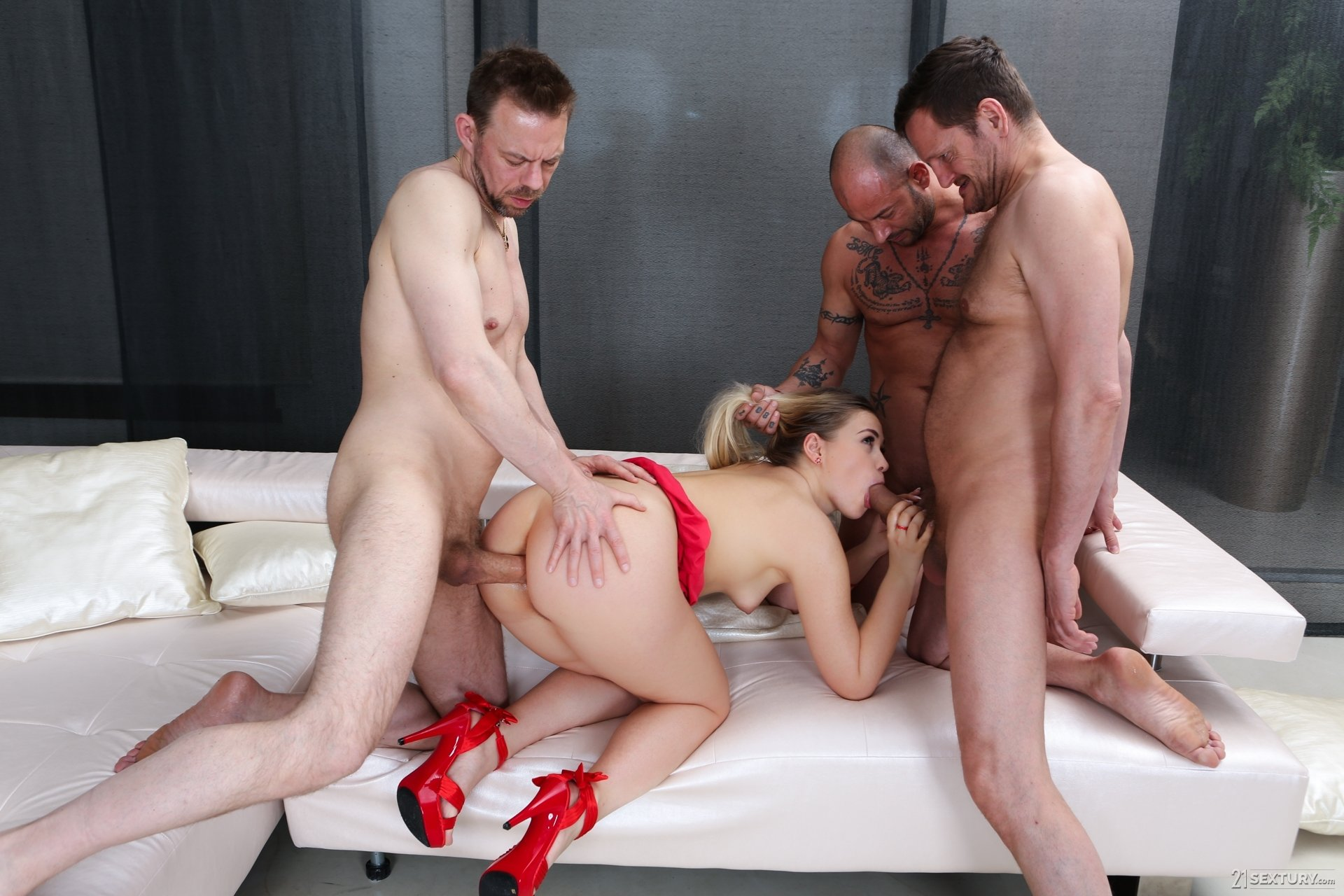 best of Chained up beauties get their snatch drilled by torturer