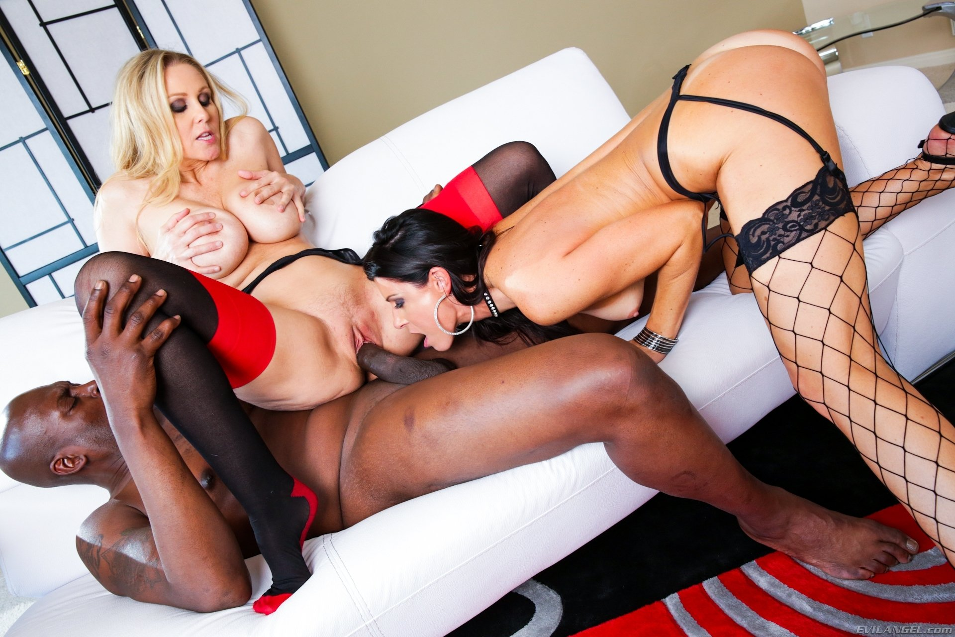 Cleaning apartments for special needs adults in a home ebony girl interracial