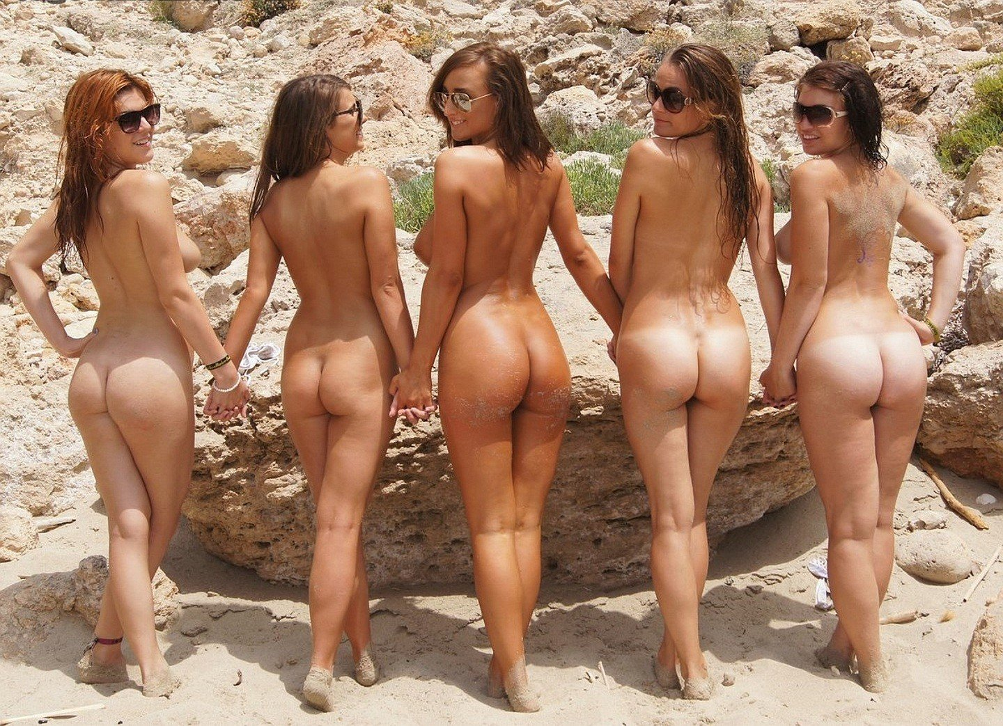 Nude beaches with fine ass women #13