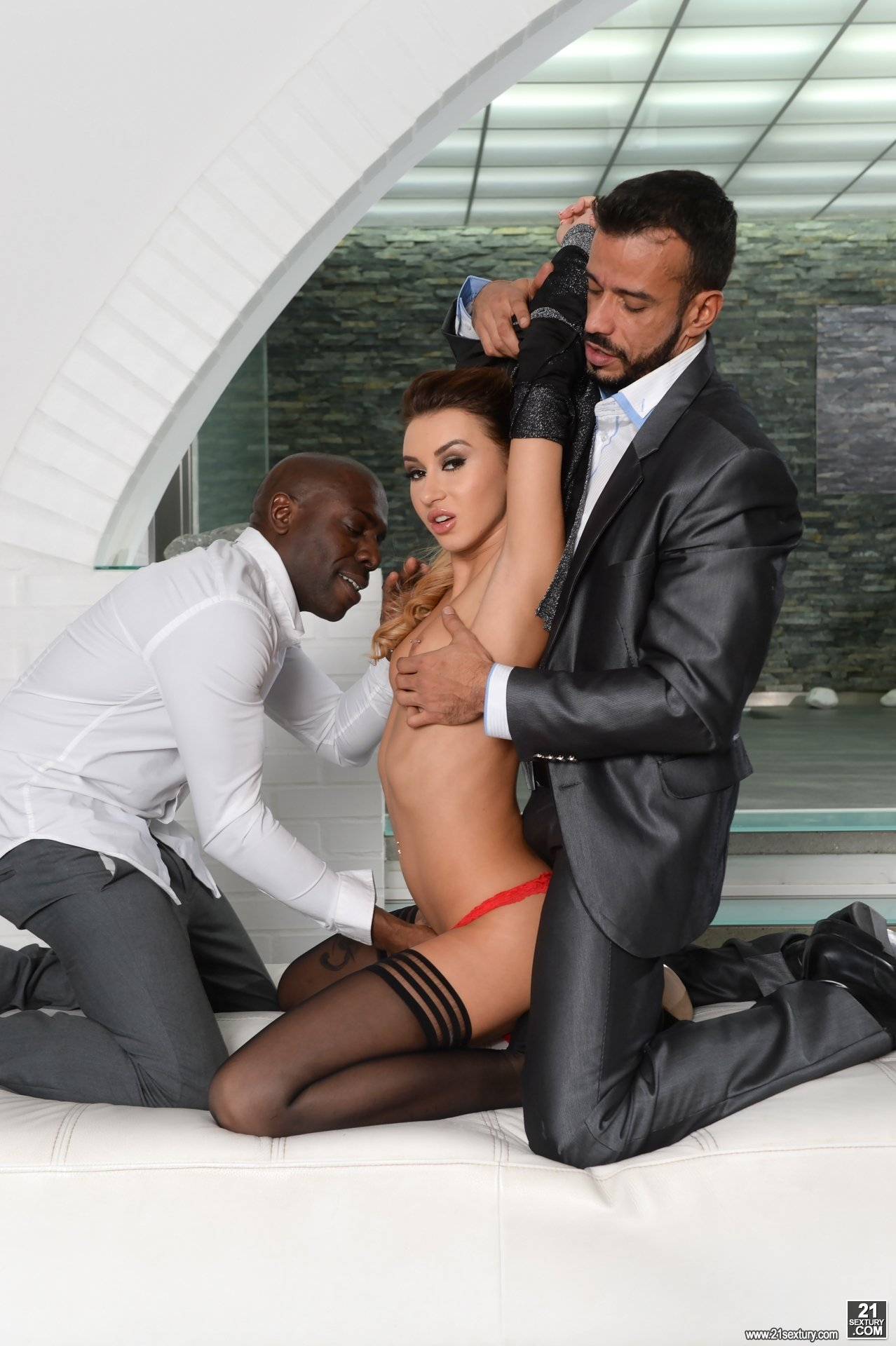 Sazil    reccomended Sexy woman all her fuckholes railed by big black cocks
