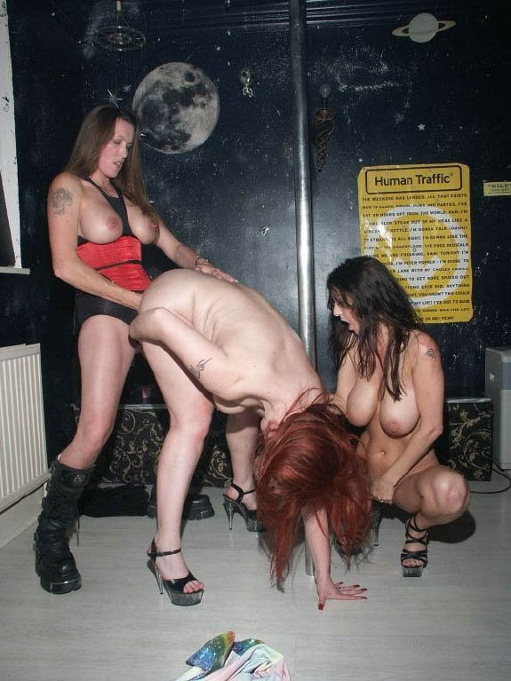lesbian spanking girl there