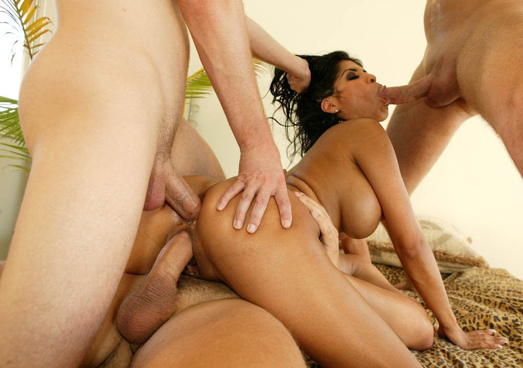 Transgender jewelry Interracial gangbang 5 on 1