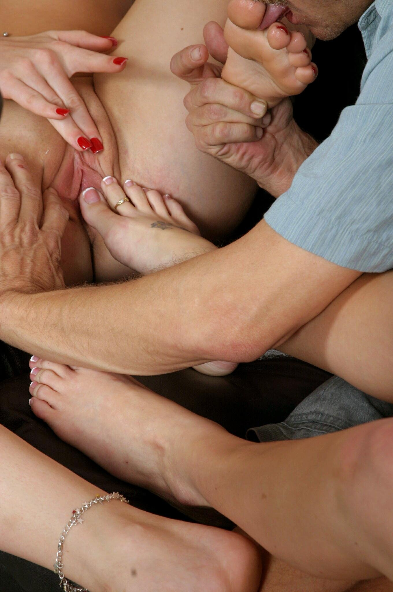 spanking and oral sex