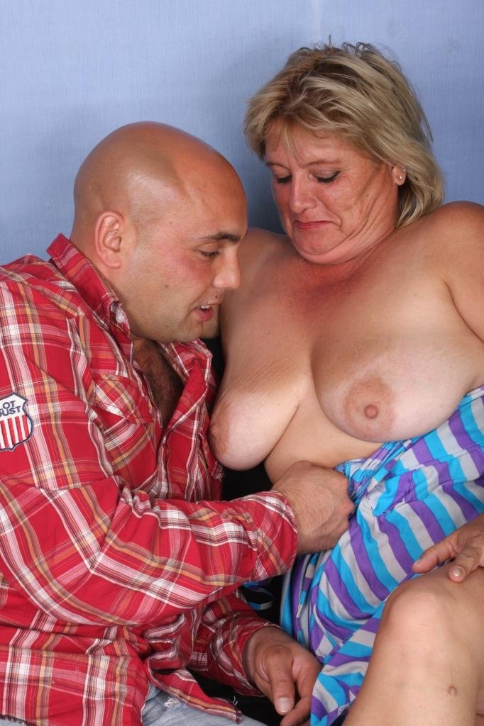 Mature big tits beach #1