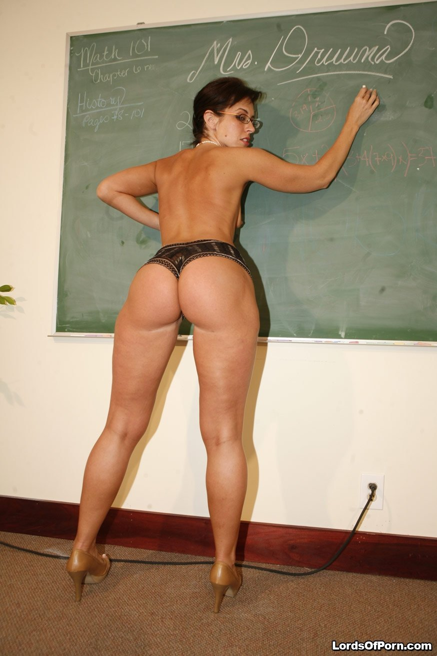 Teacher milf butt