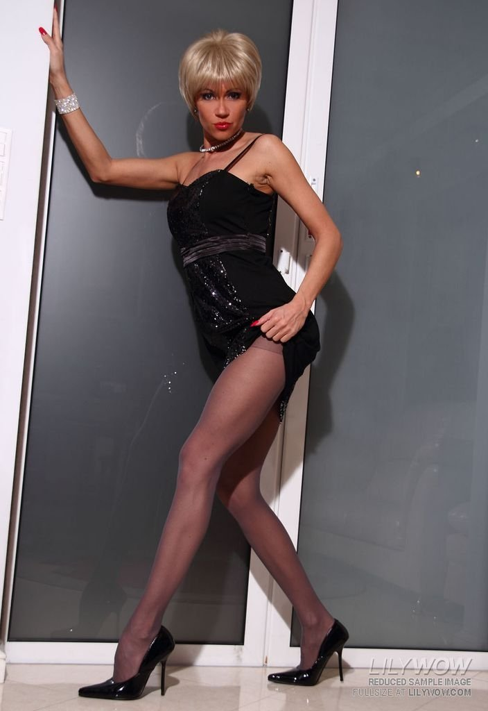 Pantyhose and uniform Curvy foreigner hooks up with black stud CasualFriendFinder.co.uk