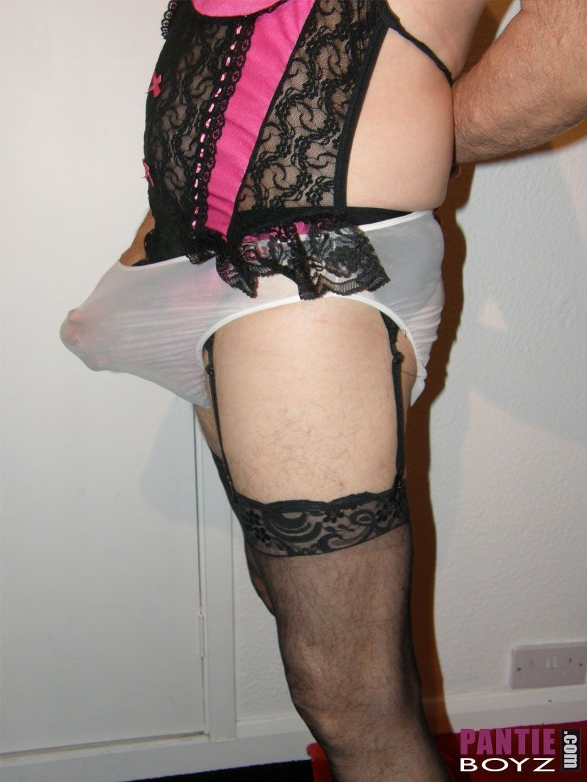 Jacking Off In Lingerie 21
