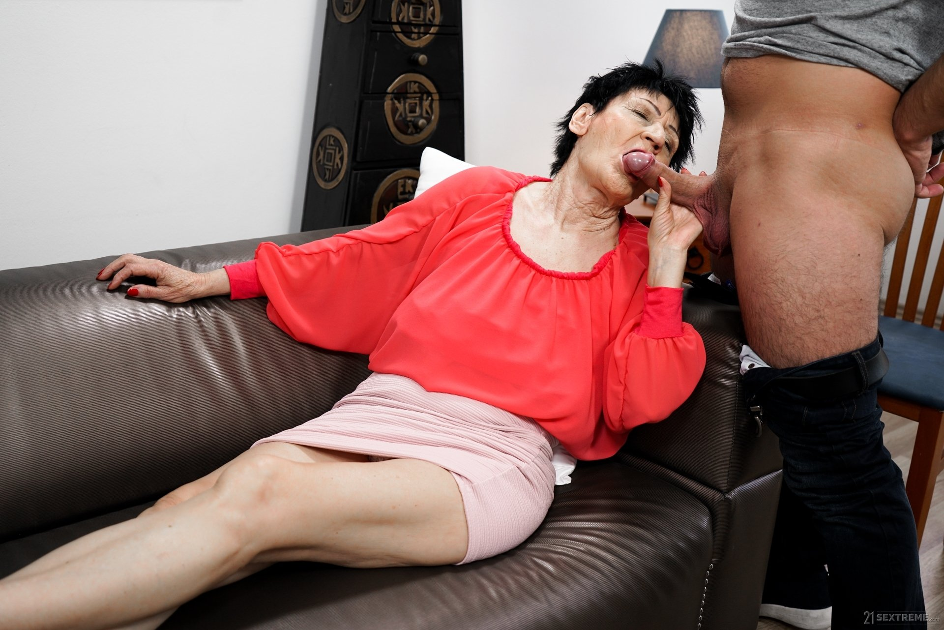 Granny old mature tube #1