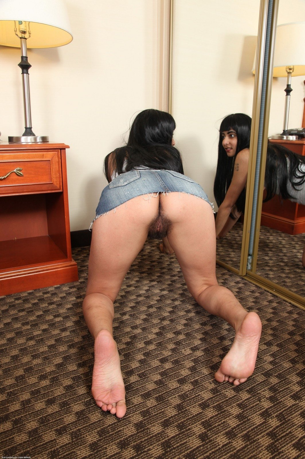 Wife spanked while husband watches