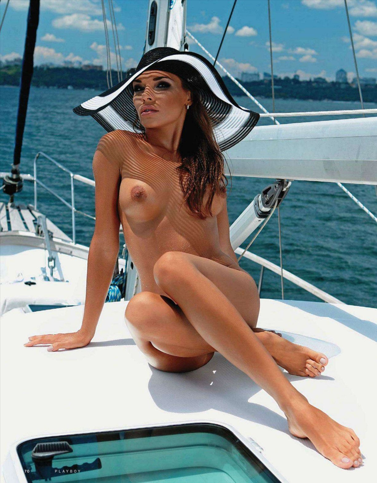 Naked girls yacht or boat