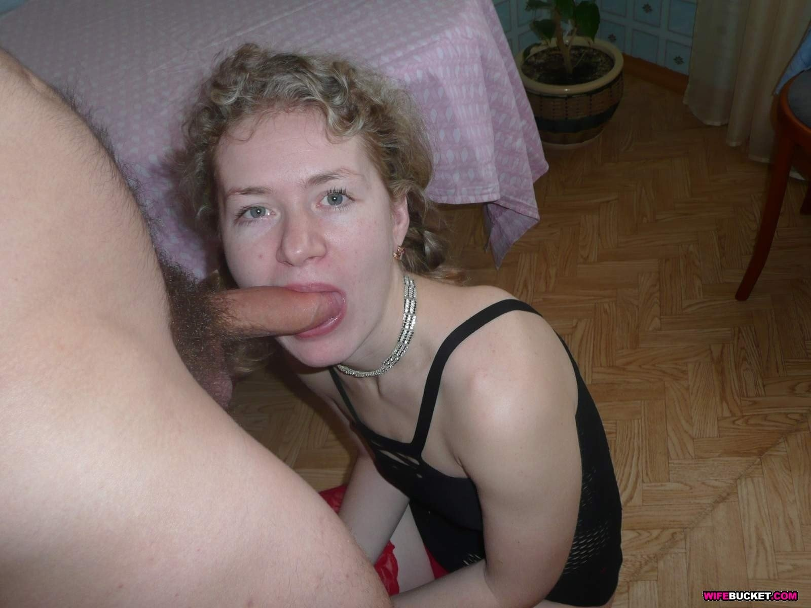 Wife big pecker