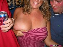 hairy milf outdoor there