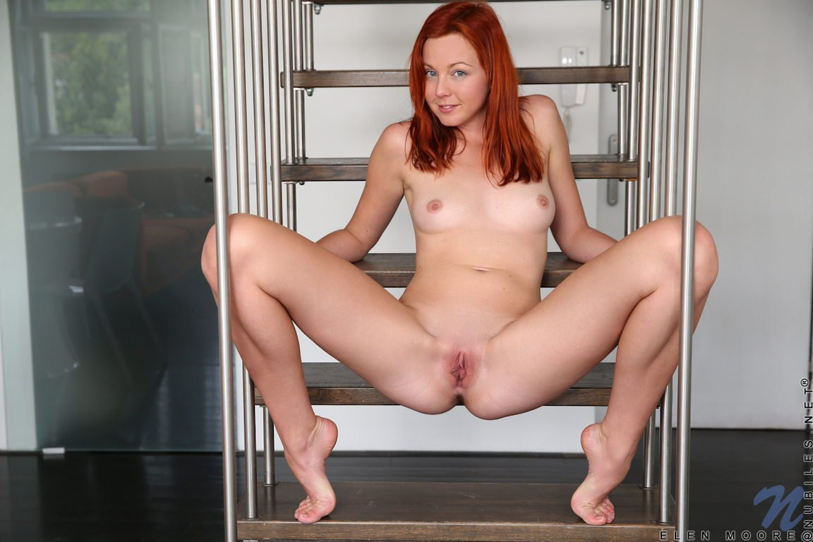 Hot ginger with big tits #9
