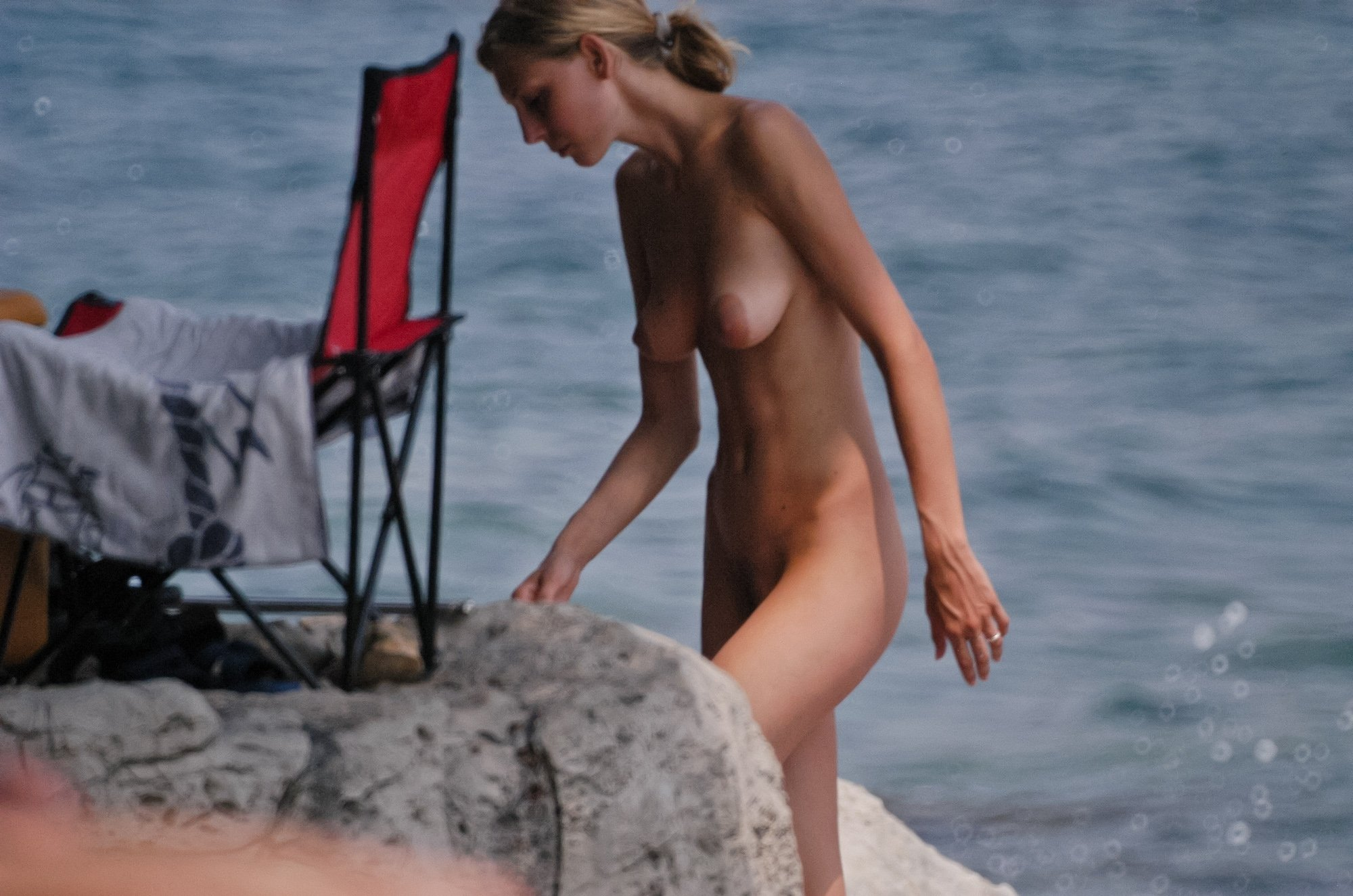 naturist sex on the beach