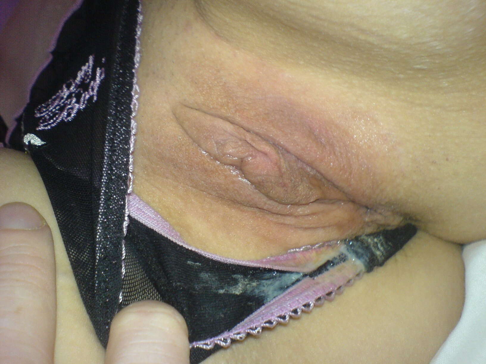 Cum wife filled panties bring captions home