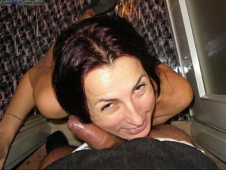 wife giving husband oral sex