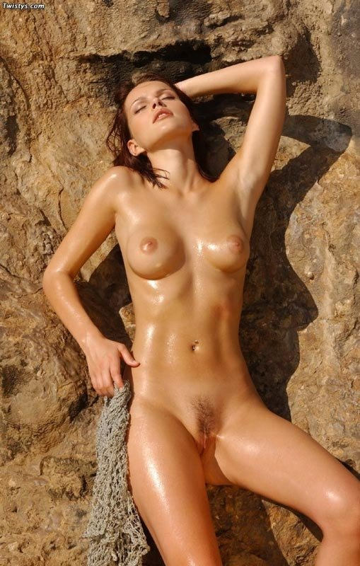 Asian girl nude beach #1