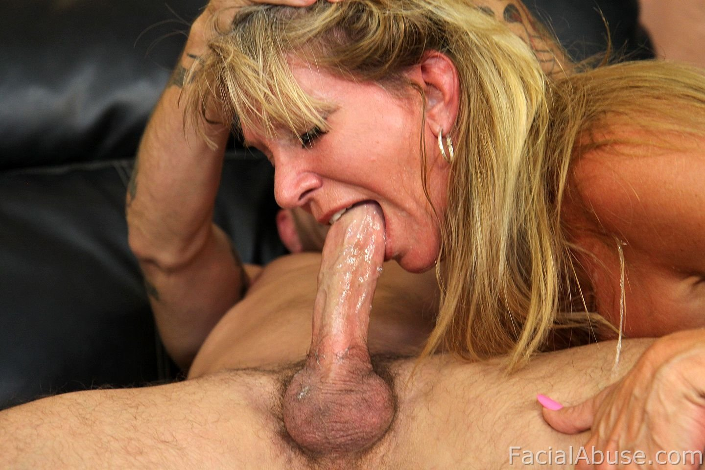 image Felicity feline throat fucked hard at facial abuse