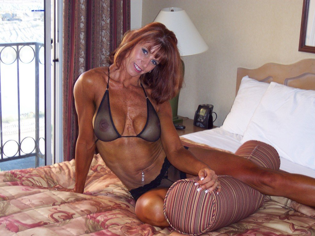 Milf slim hot body