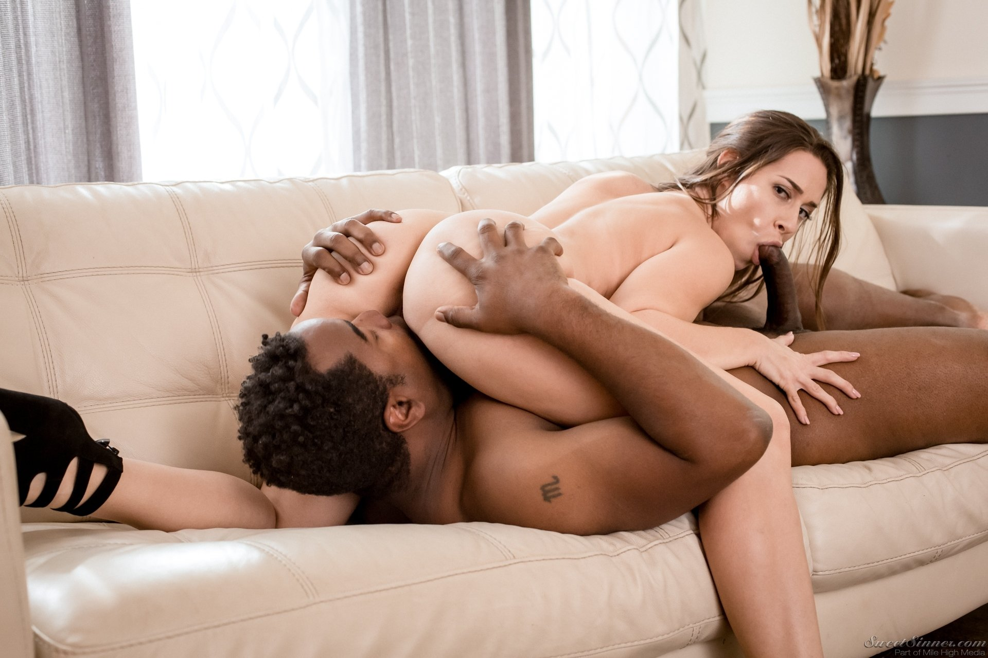 forced bi interracial