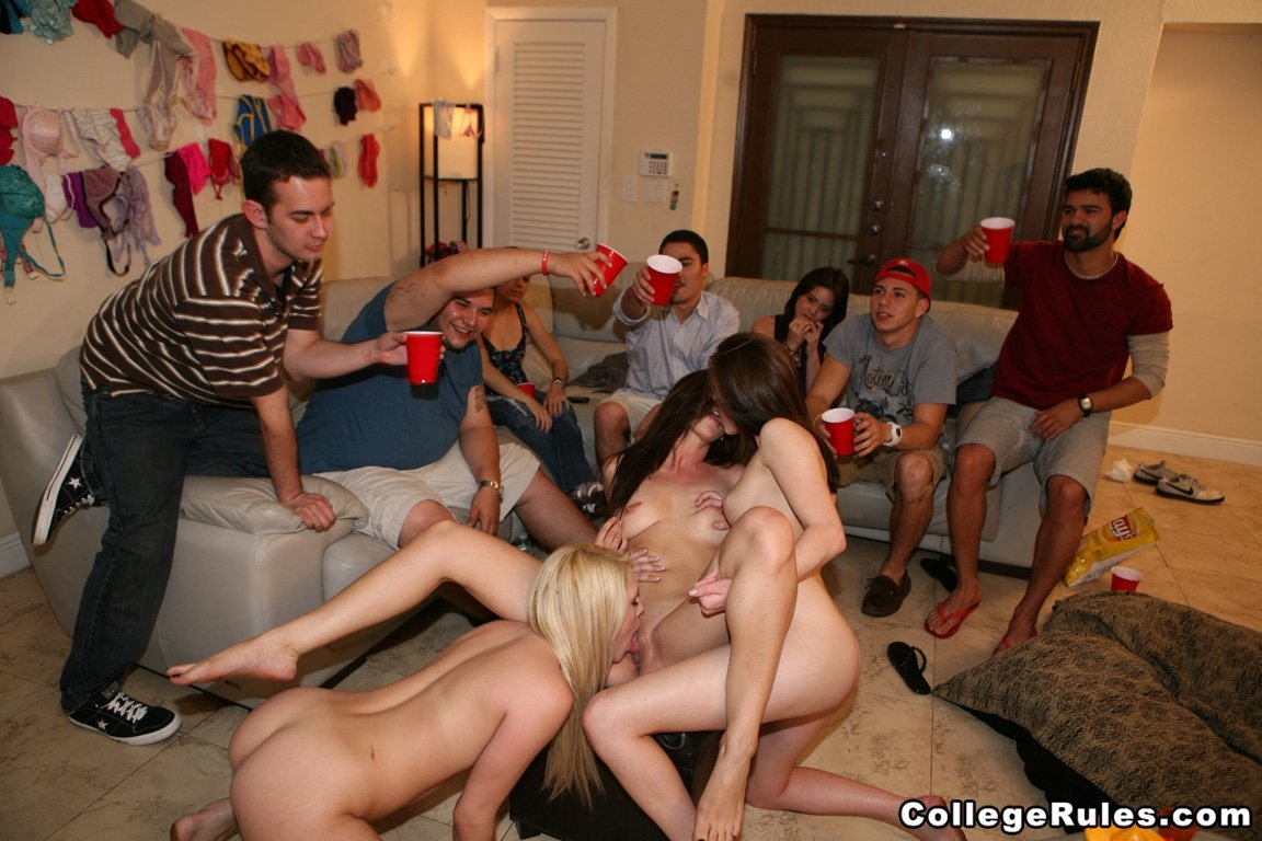 College party turns into all out fuck fest porn photo online