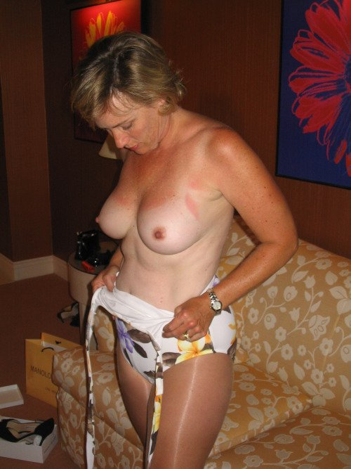 milf amateur big boobs there