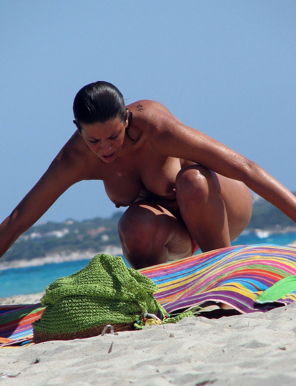 mature women sex on beach there