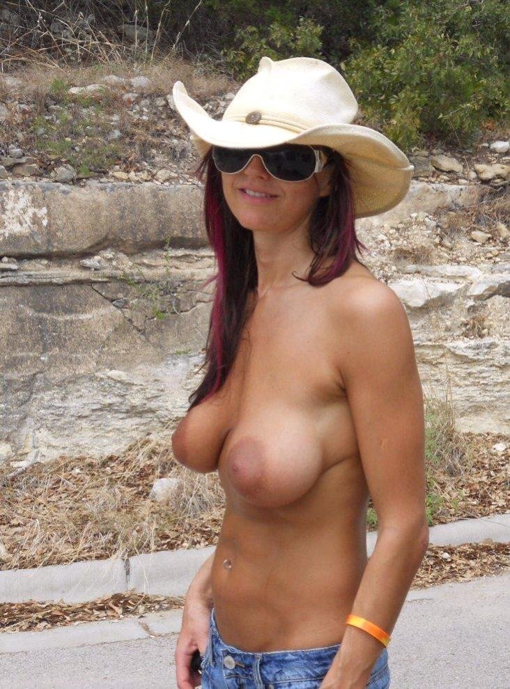 granny naked outside