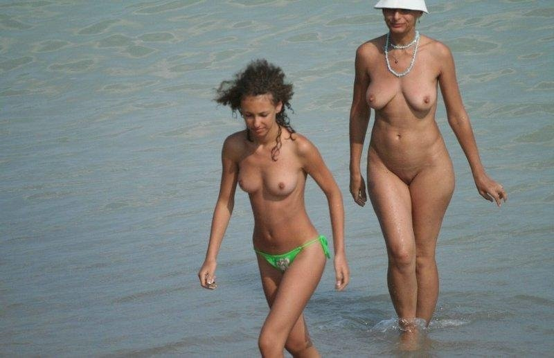 Sabin reccomend milf nude on beach