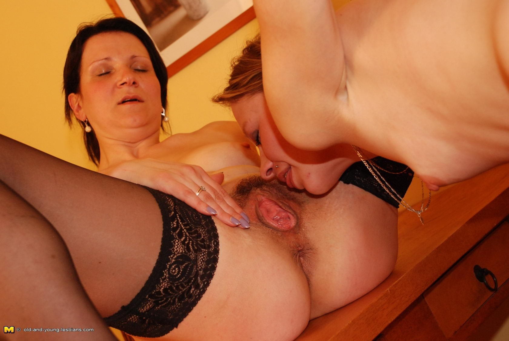 Mature wives in tights #11